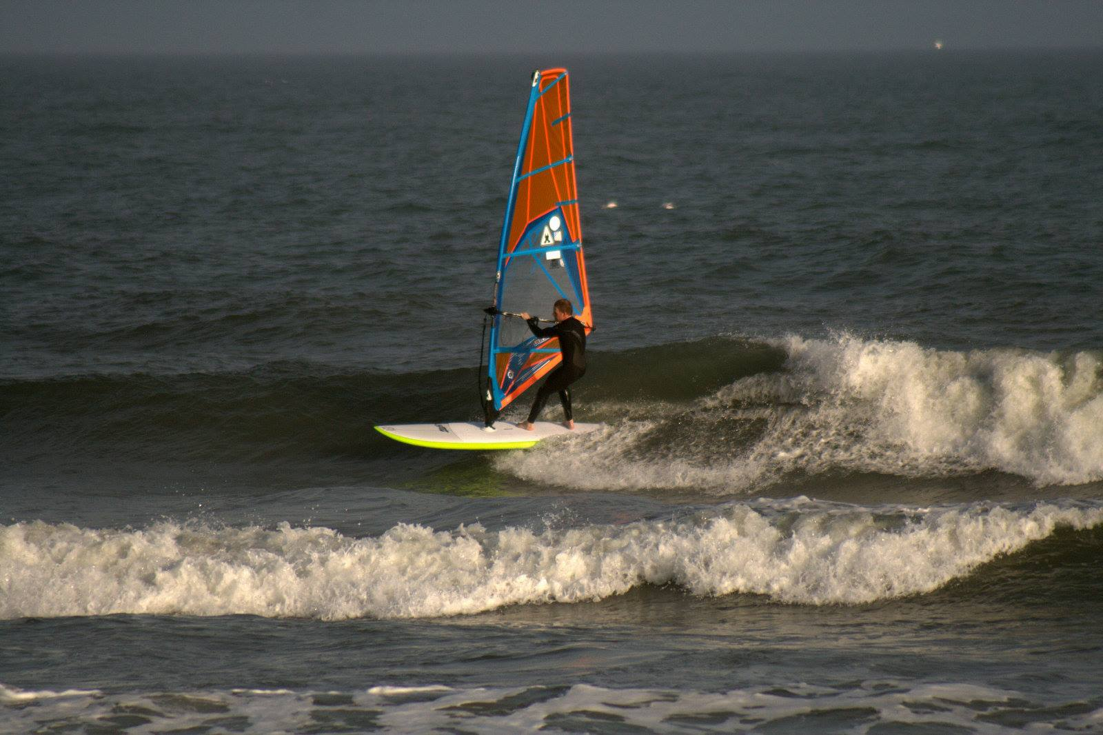 Light wind SUP Sailing