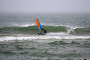 Powered up wave sailing at Ramp 43