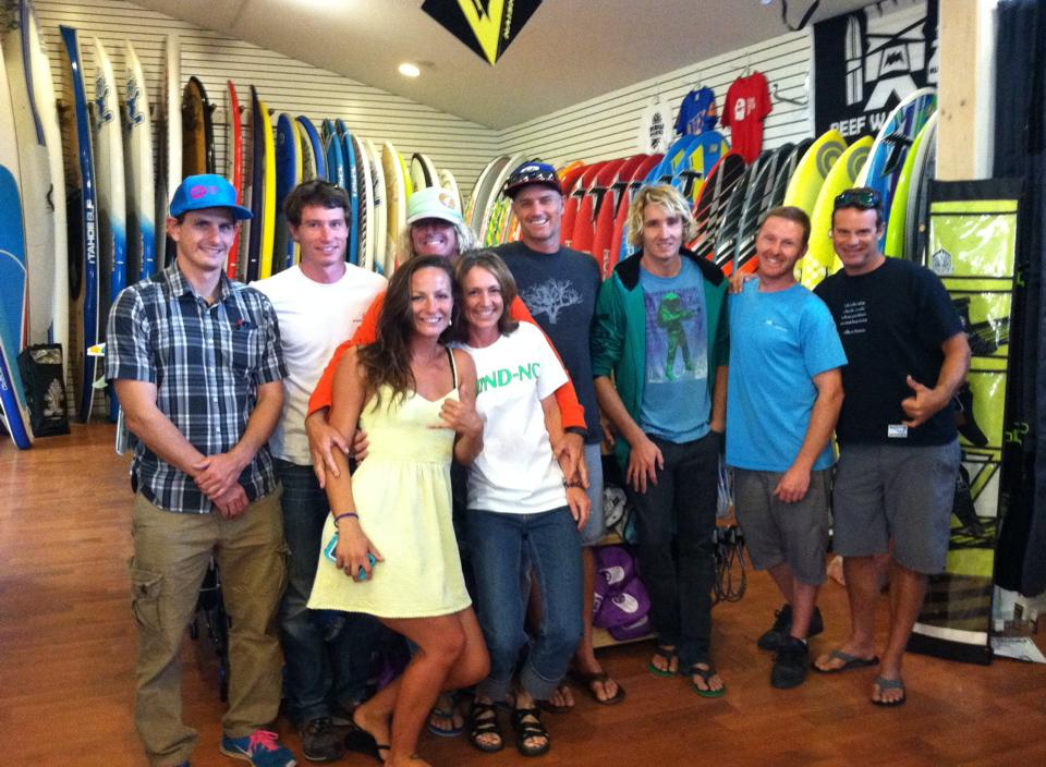 American Windsurfing Tour Crew @ Wind-NC!